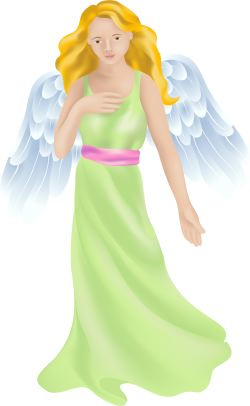 Adult Angel clip art