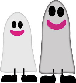 Ghosts clip art
