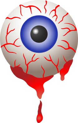 Bloodshot Eye clip art