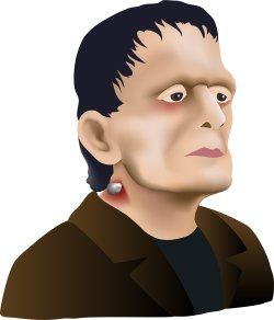 Frankenstein Monster clip art