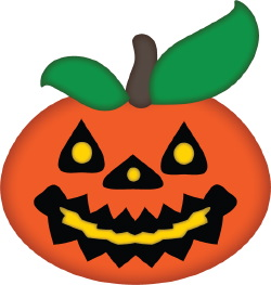 Happy Jack-o-Lantern clip art
