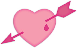 Heart And Arrow clip art