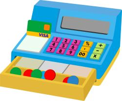 Cash Register clip art