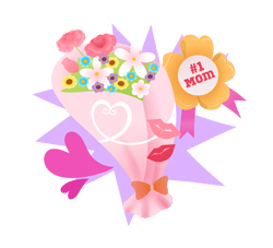Mothers Day Presents clip art