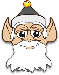Old Elf clip art