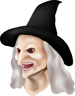 Evil Witch clip art