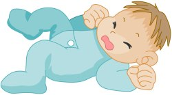 Crying Baby clip art